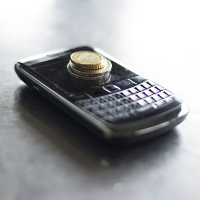 Blackberry y dinero